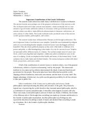 humanities essay taylor touchton humanities i compare and 2 pages humanities 1 essay 2