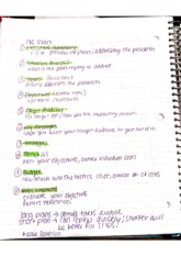 Public Relations Class Notes 8