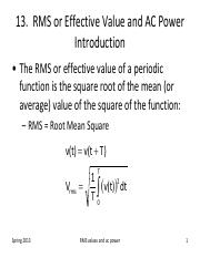 lesson 13 RMS values and AC power.pdf
