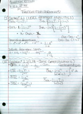 Financial Math Reference Sheet #2