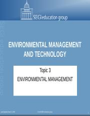 Topic 3 Env Management.ppt