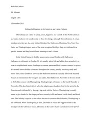 british traditions and customs essay