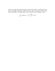 Phys 181b Problem Set 10 Solution