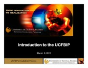 UCFBIP for Inspirational class 2011