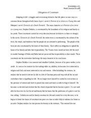 Political Science Essays Comparative Essay Donne And Wit Advanced English Year Streams Of The River  Poetry Analysis Death Be Analysis And Synthesis Essay also Where Is A Thesis Statement In An Essay Writing Help Service   Pages Research Paper John Donne Death Be  Argument Essay Paper Outline