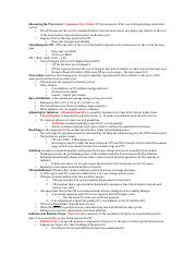 Ch. 5 econ test 1 cheat sheet