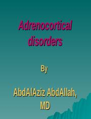 Adrenocortical disorders.ppt