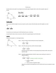 2.3 The Sine Law.docx