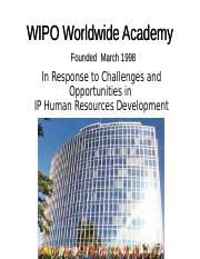 wipo_smes_ge_08_specialaddress04.ppt