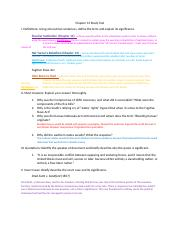 Chapter 12 and 13 Study Tool (1)