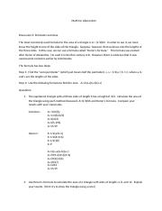 Course Hero- Math for Liberal Arts Discussion 3.docx