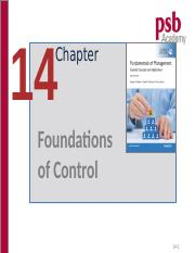 Chp.9 Foundations of Control