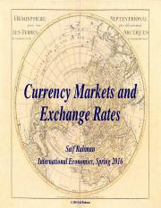 PP-8 Currency Markets and Exchange Rates