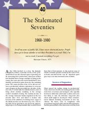 chapter 40 the stalemated seventies