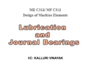 Lubrication & journal bearings [Compatibility Mode]