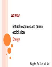 Lecture 4 Natural resources and utilization (Energy) .pdf