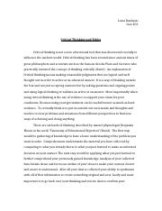 Critical thinking and ethics essay.docx
