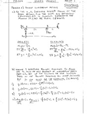 Structural Engineering Exam 2 Solution