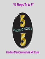 5 Steps To A 5 Practice Econ Exam.pptm
