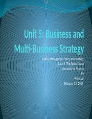 mt 460 02 management policy and strategy Unit seven scotts miracle-gro case study analysis xxx kaplan university mt 460-02 management policy and strategy dr carrie a o'hare april 22,.