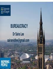 29 Bureaucracy