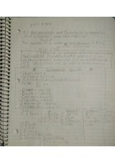 Antiderivatives and Indefinite Integration Notes
