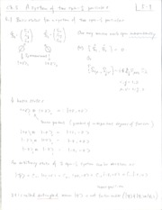Chaoter 5 Lecture Notes