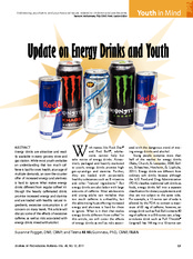 McGuinness (2011) Update on Energy Drinks and Youth