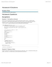 cs61a homework 6 solutions