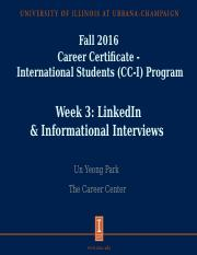 LinkedIn and Info Interview_final