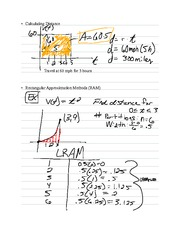 Chapter 6.1- Integral Calculus