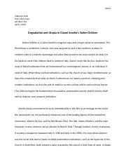 Stolen Children Essay