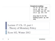 Econ+102+lecture+17%2C+3-15-12+-+Theory+of+monetary+policy copy