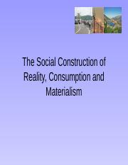 consumption and materialism(1)-1.ppt