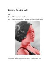 Coloring Lady.docx