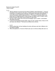 Business Law 22 and 23 (Autosaved)