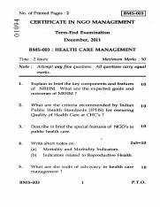 (www.entrance-exam.net)-IGNOU Certificate in NGO Management-Health Care Management Sample Paper 6.pd