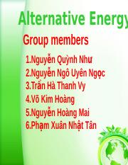 Alternative Energy holy six.pptx