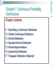 Notes05 Continuous random variable