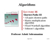 19-Shortest-Paths-III