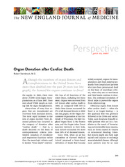 Organ Donation after Cardiac Death