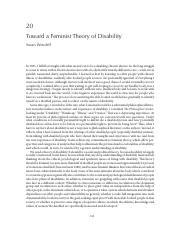 Wendell, Towards a Feminist Theory of Disability.pdf