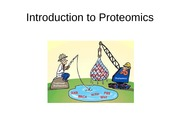 Lecture Introduction to Proteomics