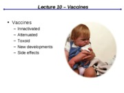 Lect10 Vaccines&Immune Disorders