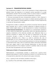 Lecture 6 - TRANSPORTATION MODEL.docx