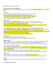 highlighted study guide