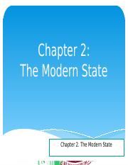 Chapter 2-The Modern State.pptx