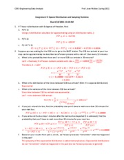 Assignment 9 Solutions