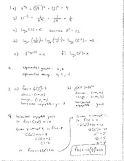Math 105 Tutorial Exponents