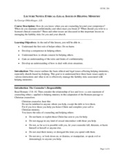 Lecture_Notes_Ethical_Legal_Issues_in_Helping_Ministry